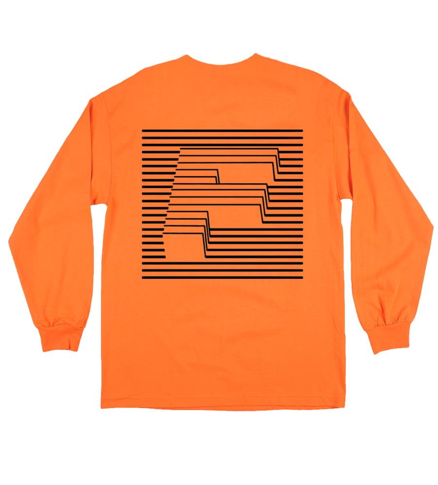 Image of F LINE Longsleeve - Orange