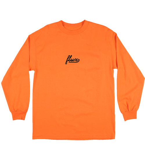 Image of F LINE Longsleeve - Orange