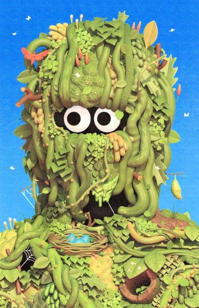 Image of Moss Lad Print