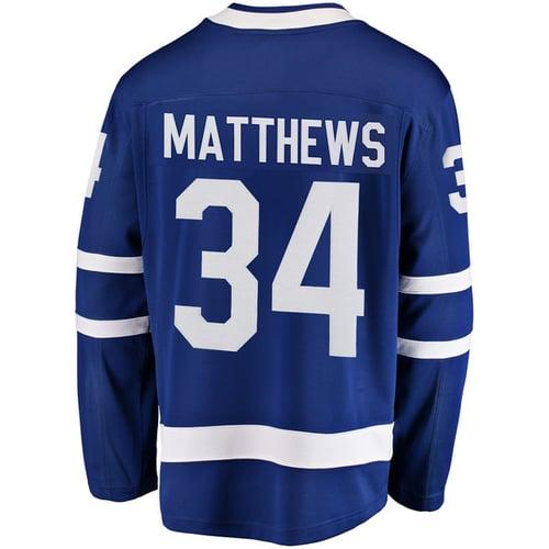 Image of Men's Toronto Maple Leafs Auston Matthews Royal Jersey