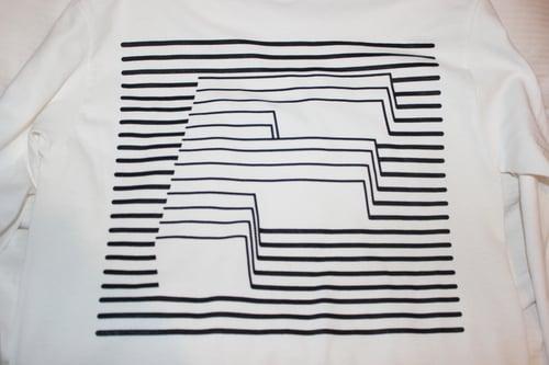 Image of F LINE Longsleeve - White