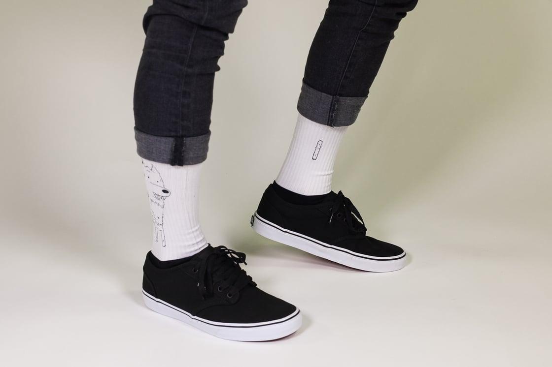 Image of Nooduru socks.