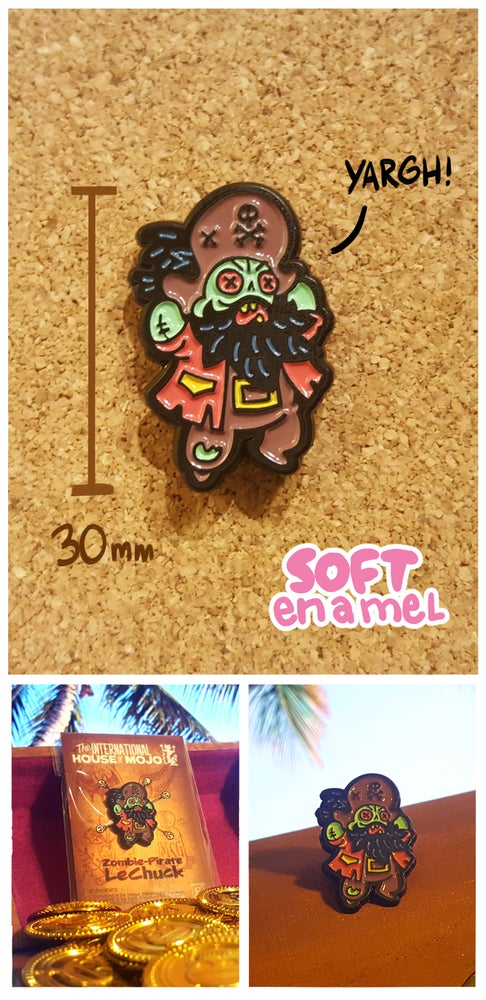 Image of Zombie Pirate Pin