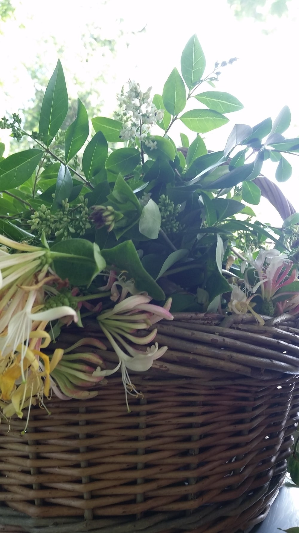 Image of Summer Flower Basket Workshop Sunday 14 July