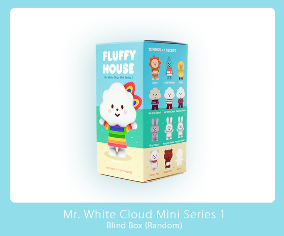 Image of Mr. White Cloud Mini Figure