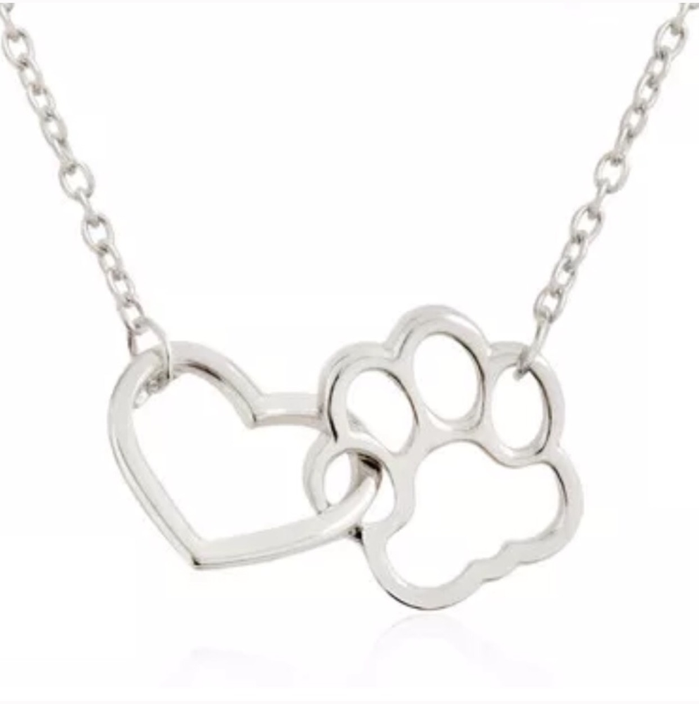 Image of PAWSITIVELY PET LOVER NECKLACE