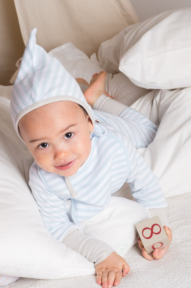 Image of Pixie Hat Blue Stripe