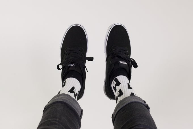 Image of M logo socks