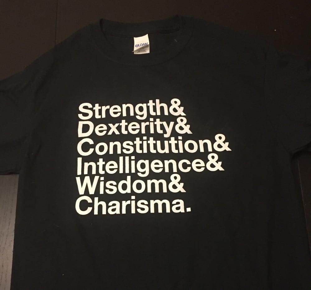 Image of Ability Score & Shirt