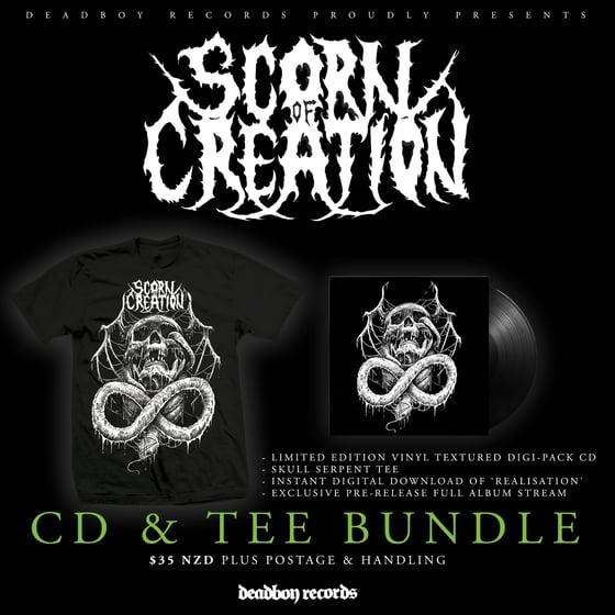 Image of Scorn of Creation - Self Titled Album Pre Order - CD & Tee Bundle.
