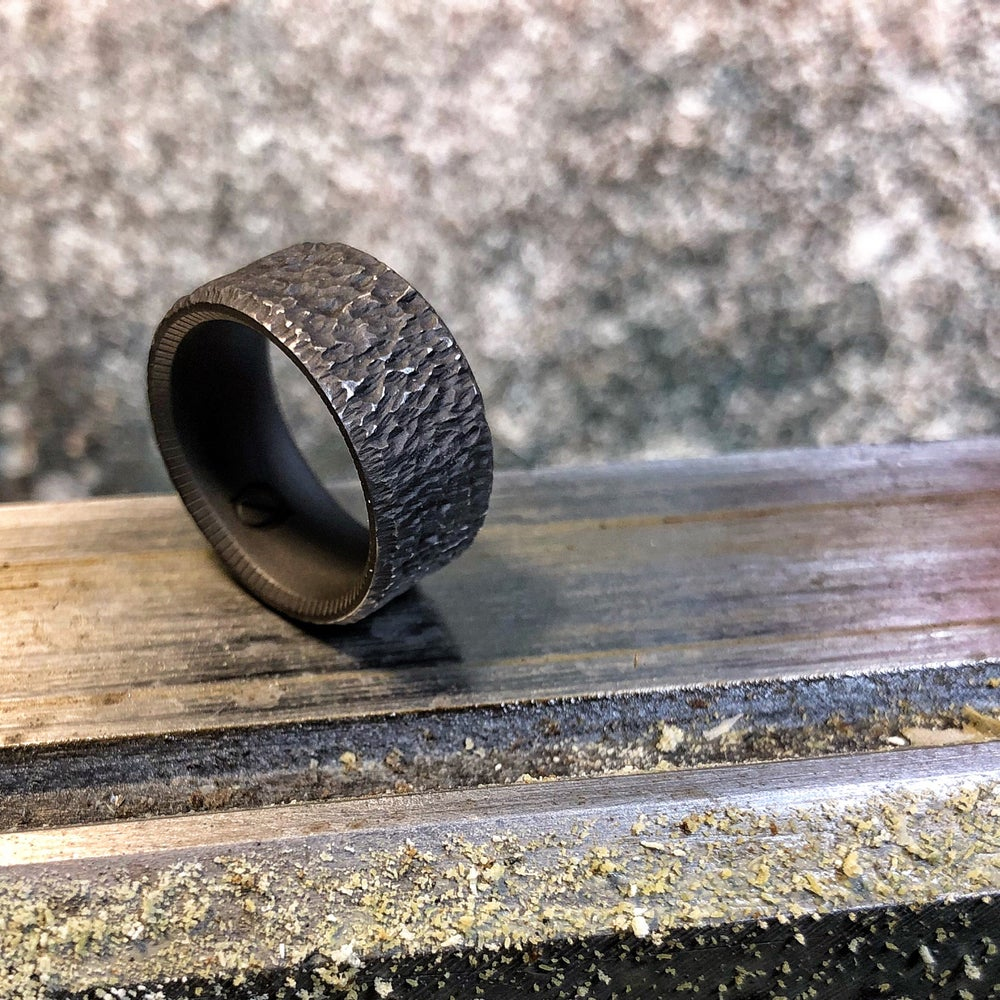 Image of Moonrock (Titanium 10MM wide)
