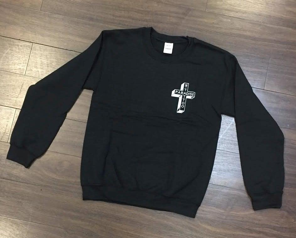 Image of Cross Crew Neck Sweatshirt