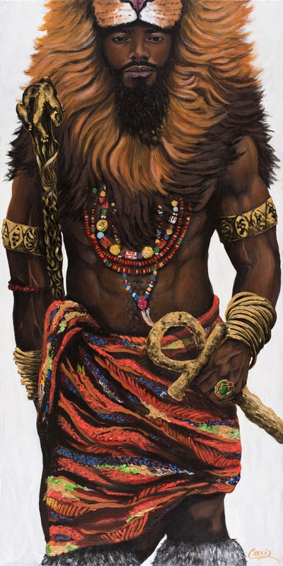 Image of African King