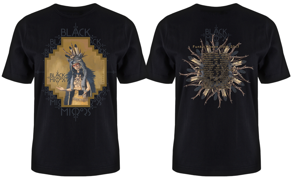 Image of Funky Queen Tour T-Shirt 2017