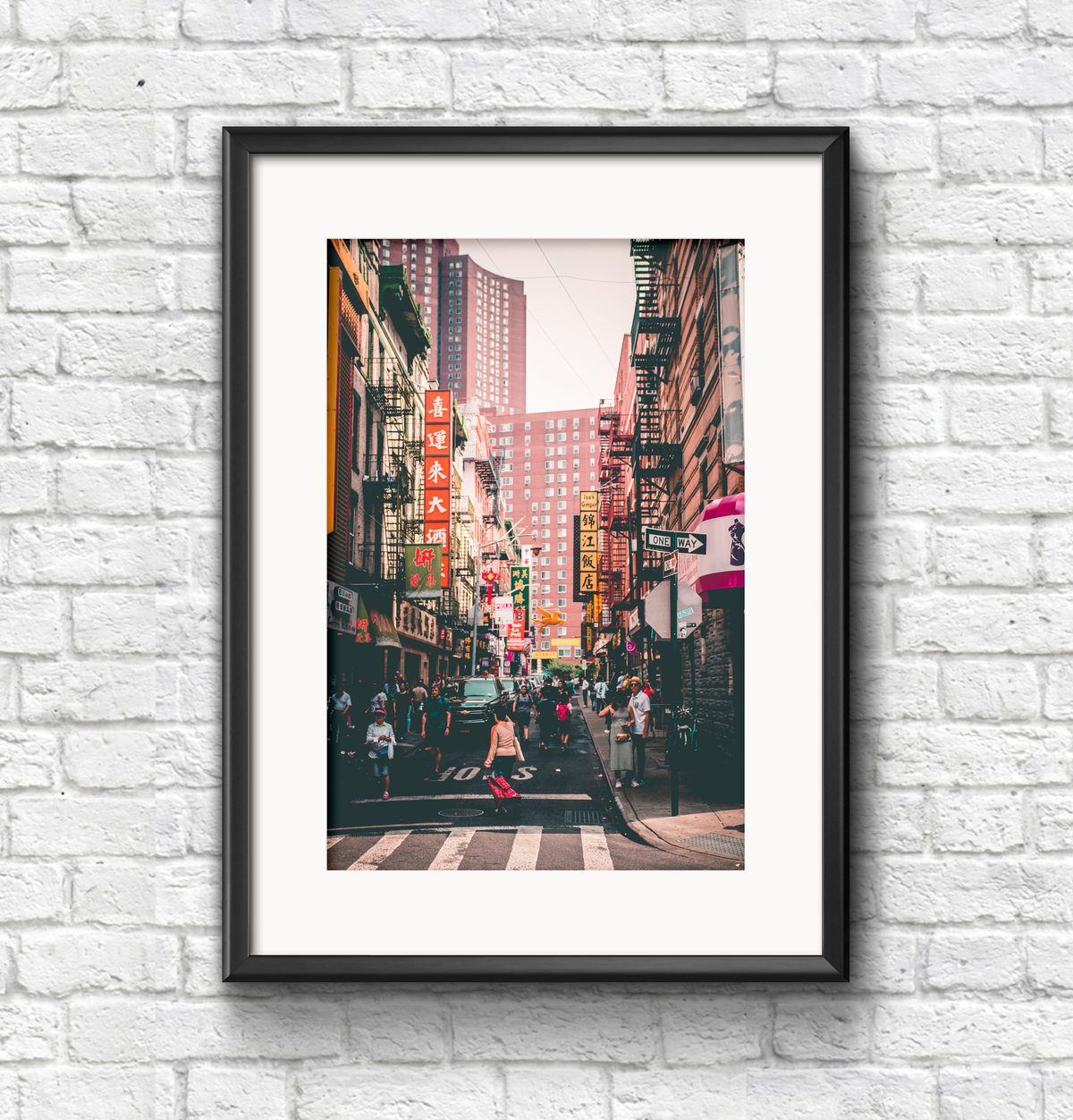 Image of Chinatown print