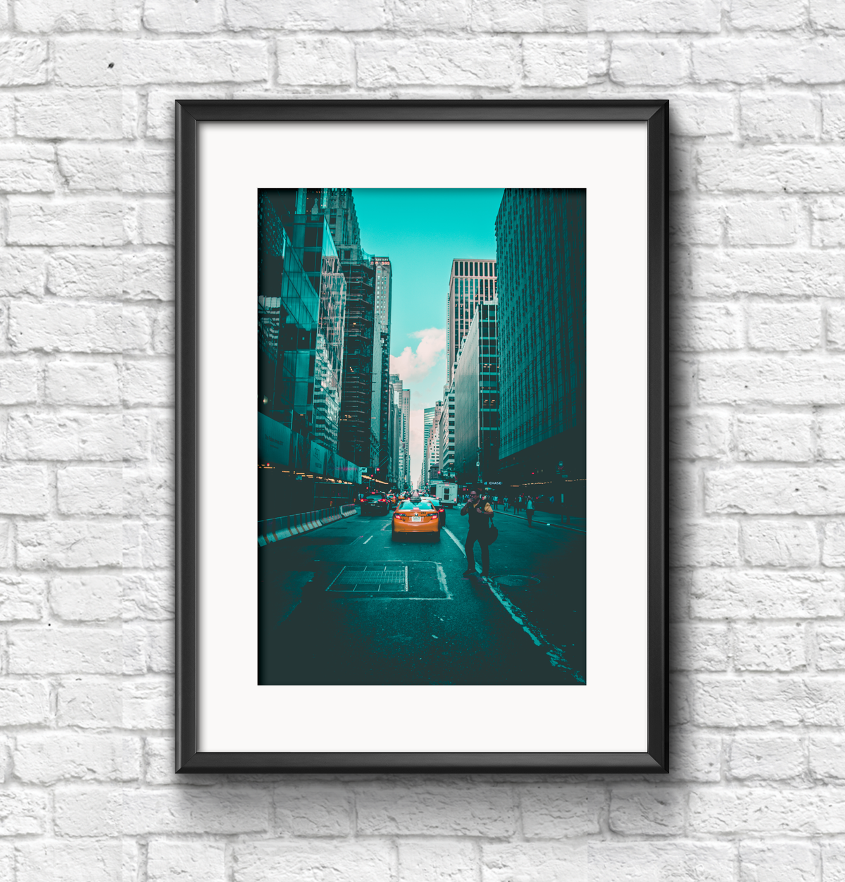 Image of New York City streets