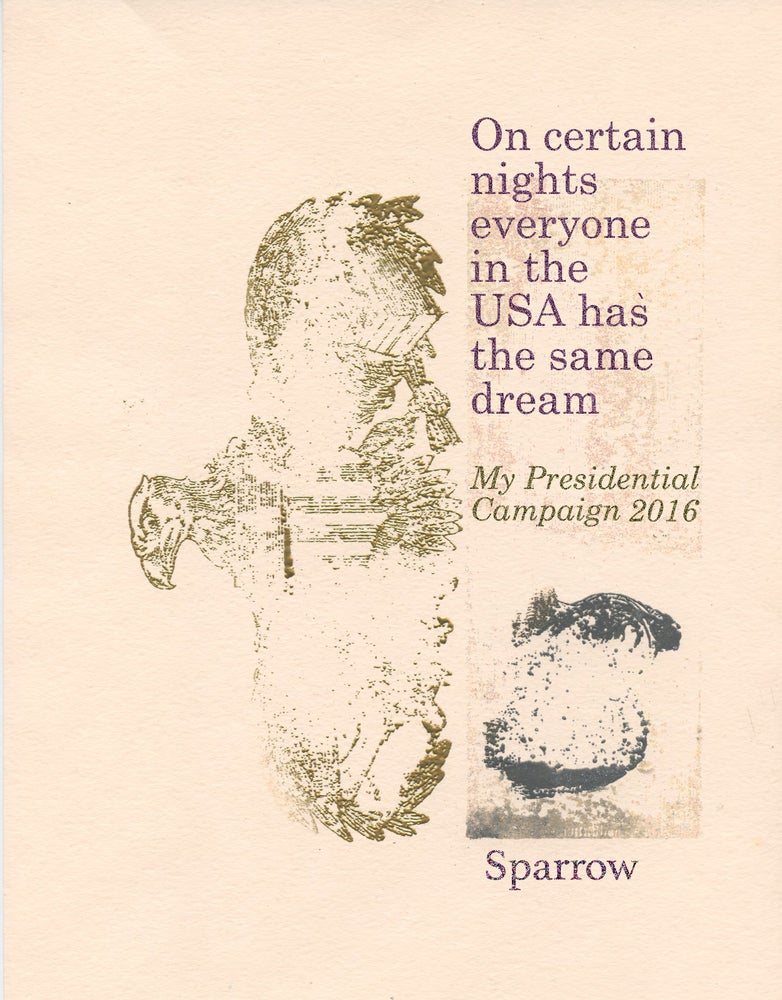 Image of On Certain Nights Everyone In The USA Has The Same Dream by Sparrow