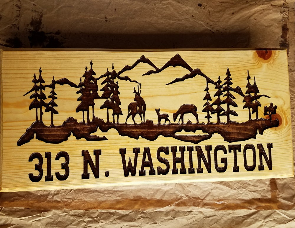Image of Wood Signs