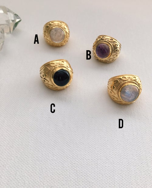 Image of ORACLE Crystal Rings