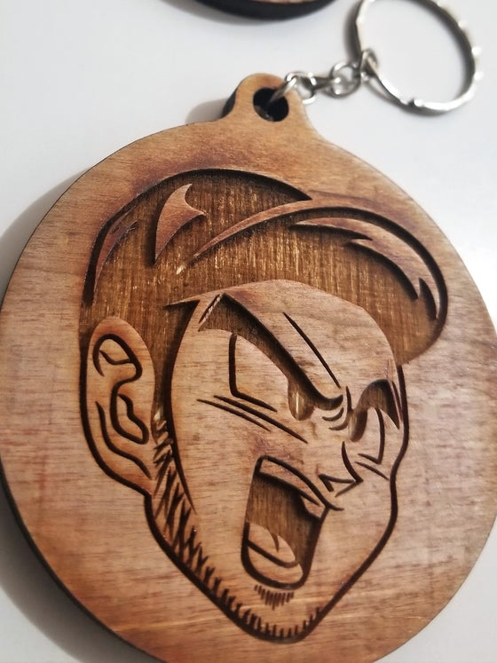 Image of FPZ ENGRAVED WOODEN KEY CHAIN