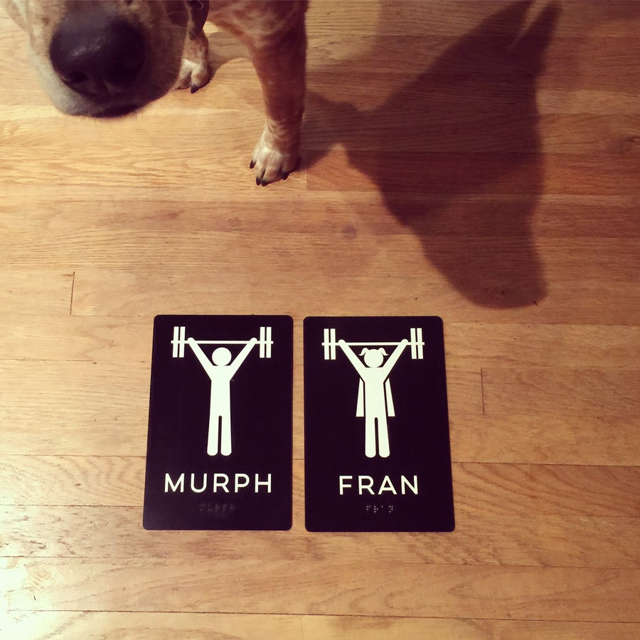 Image of Murph and Fran pair