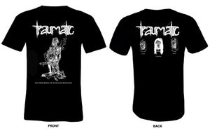 "Image of TRAUMATIC (SWE) ""A PUTRID REEK OF MANGLED REMAINS"" T-SHIRT"