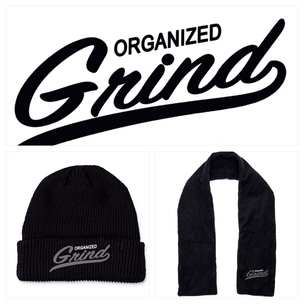 Image of OG Team Beanie & Scarf