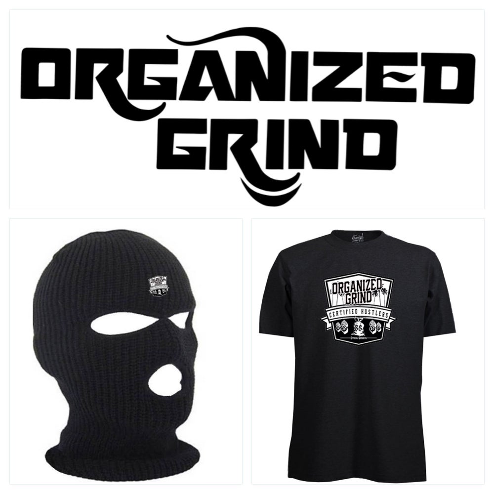 Image of OG Logo Ski Mask & T Shirt