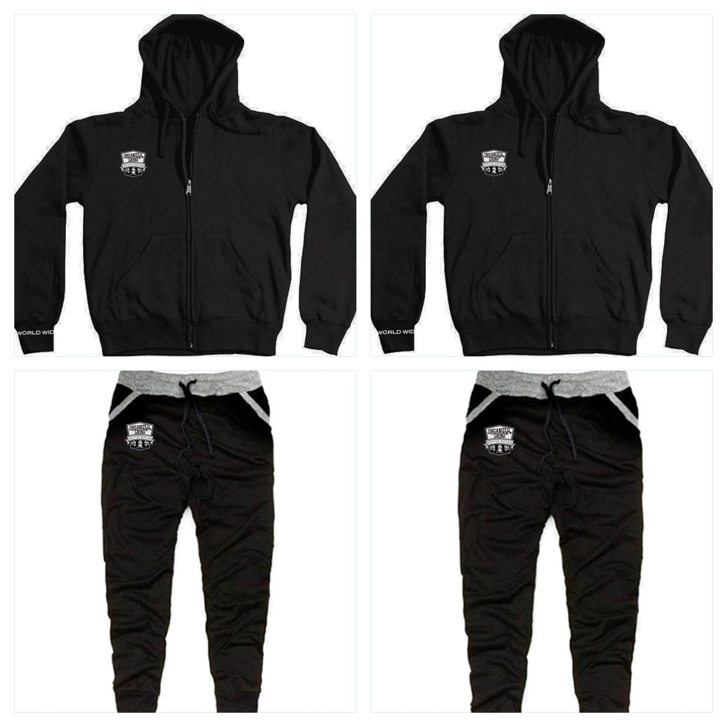 Image of OG Zipper Hoodie & Matching Joggers