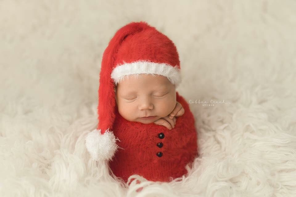 Image of Little Furry Santa Set