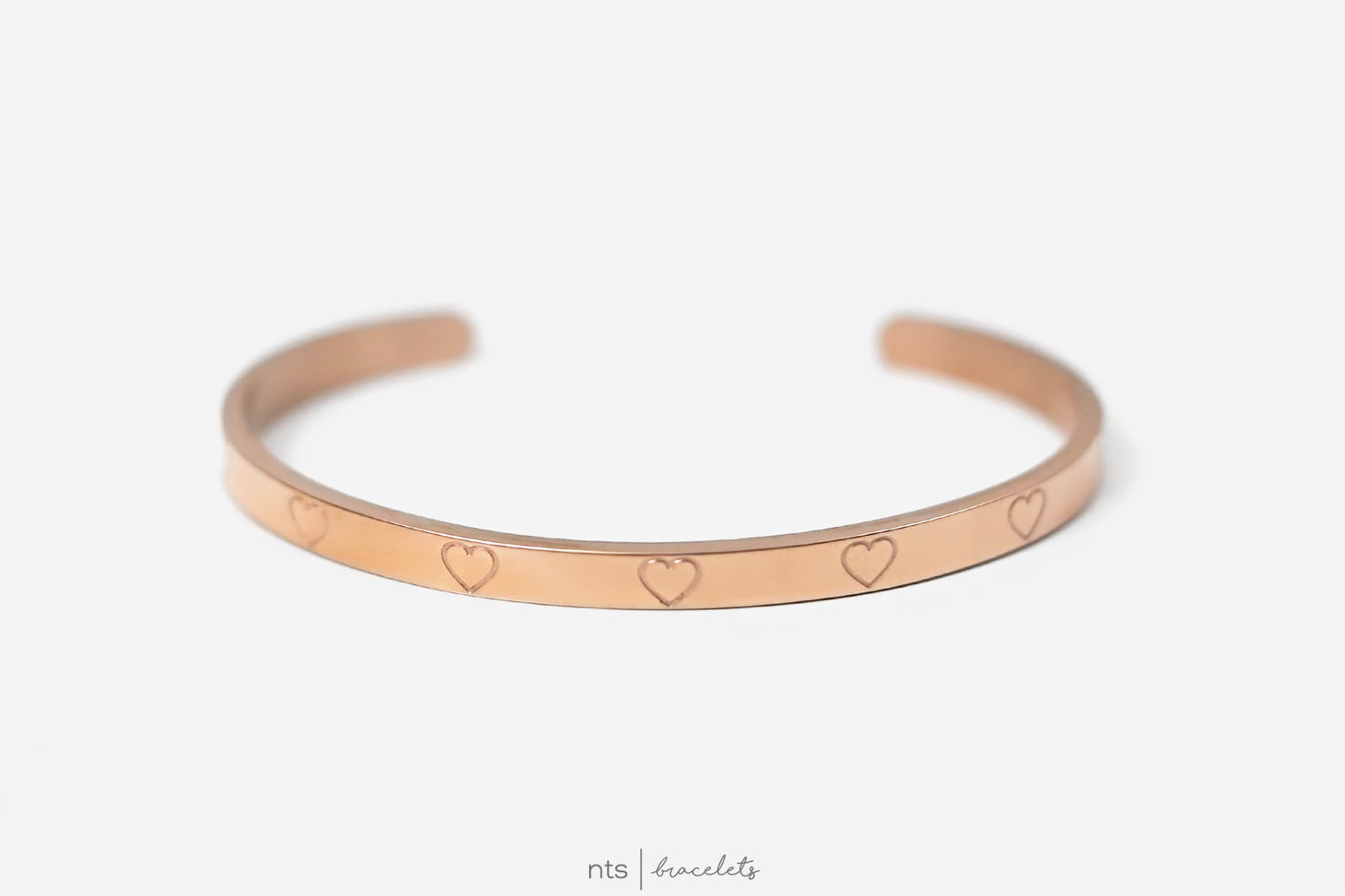 Image of #NTS: LET LOVE IN <3  (LIMITED EDITION + Rose Gold)
