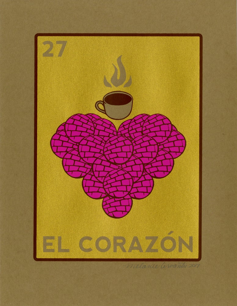 Image of El Corazon de Pan Dulce (Metallic, 2017