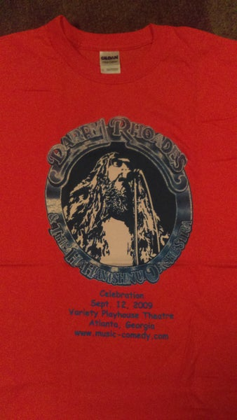 Image of HAHAVISHNU ORCH. COLLECTOR'S T SHIRTS FROM THE 2009 CONCERT