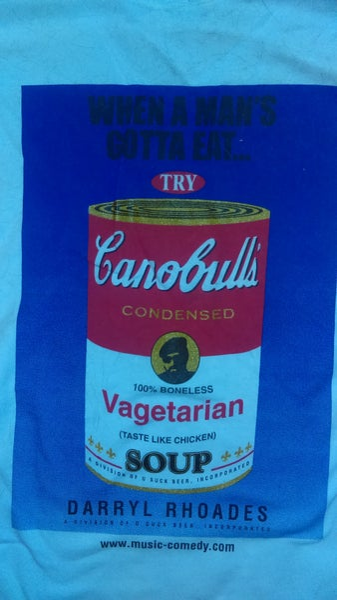 Image of Canobull's Vagetarian T Shirt