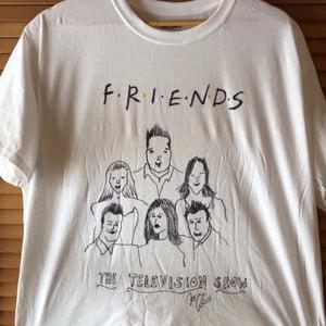 Image of CUSTOM HAND-DRAWN T-Shirt