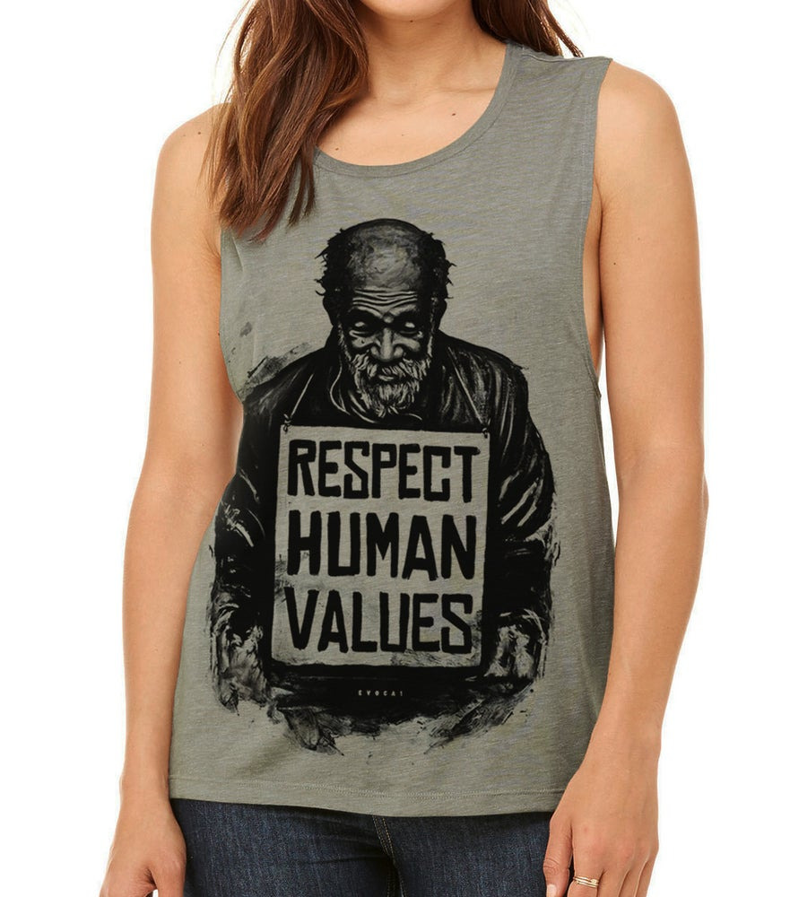 Image of Respect Human Values - Women's Stone