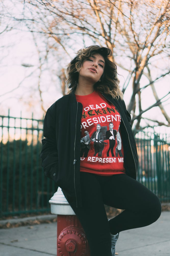 Image of REPRESENT ME CREW (RED)