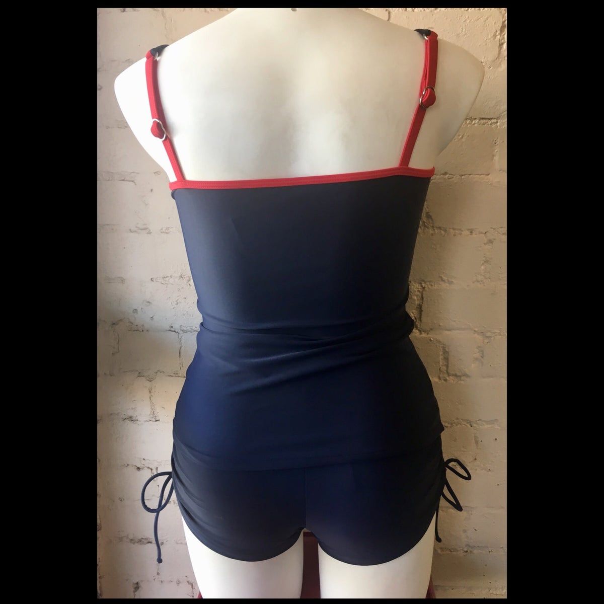 Image of LOLA ROUCHED TANKINI