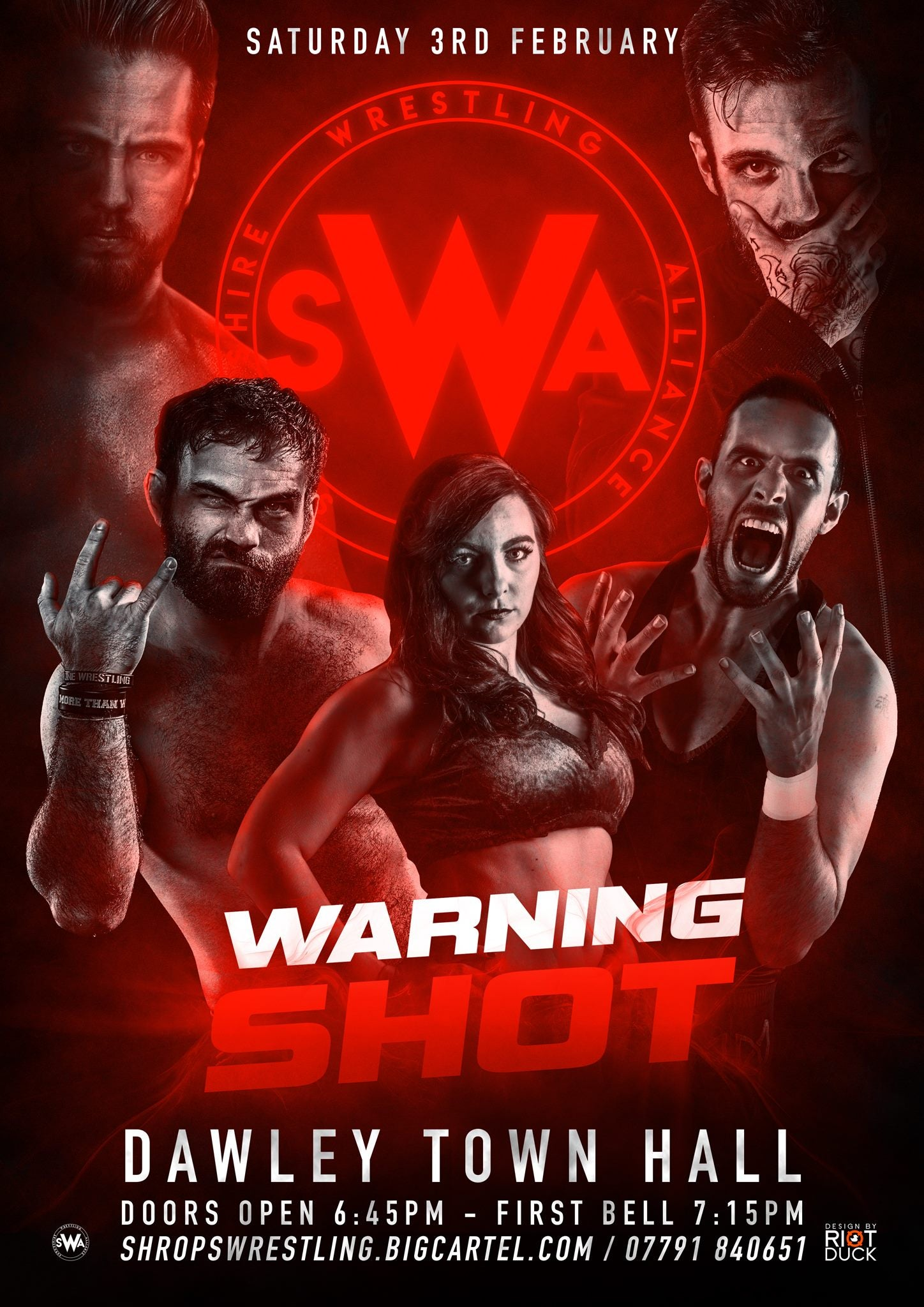 Image of SWA February 3rd 2018 Tickets