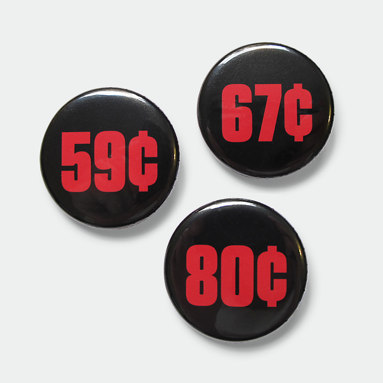 "Image of Wage Gap 1.25"" pins (set of 3)"