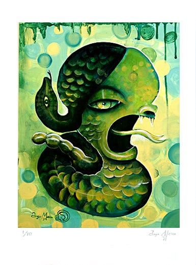 Image of 'SHARP TONGUES POISON MINDS' LIMITED EDITION OF 10