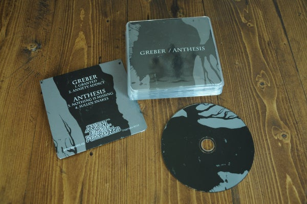 Image of Greber / Anthesis - Split CD *Ltd /100*