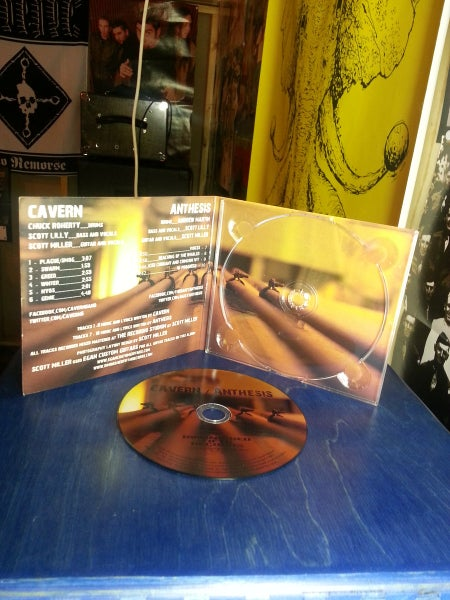 Image of Cavern / Anthesis - Split CD