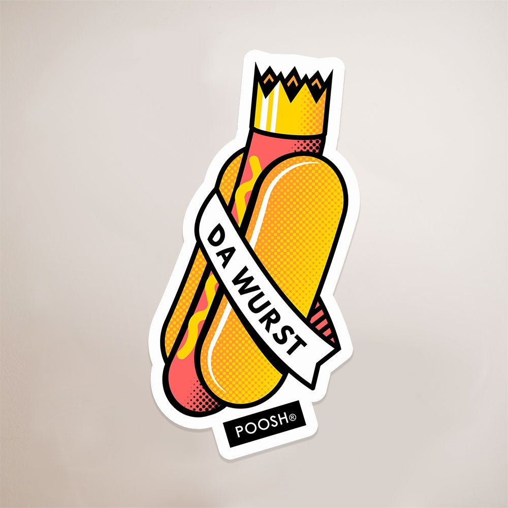 Image of Da Wurst Sticker