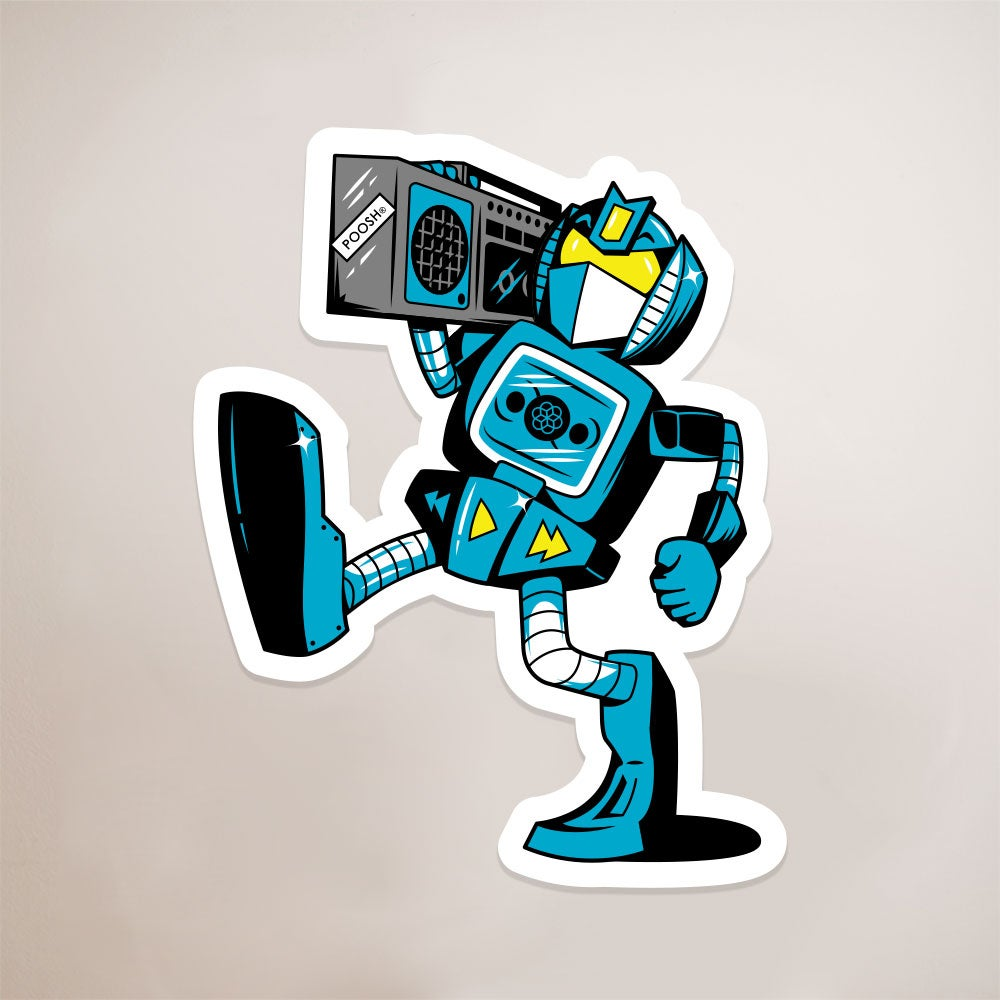 Image of Autotoon Soundsy Sticker