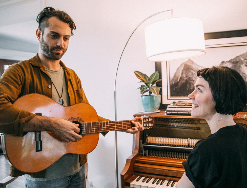 Image of Personalized song for you written by Genevieve and Marc