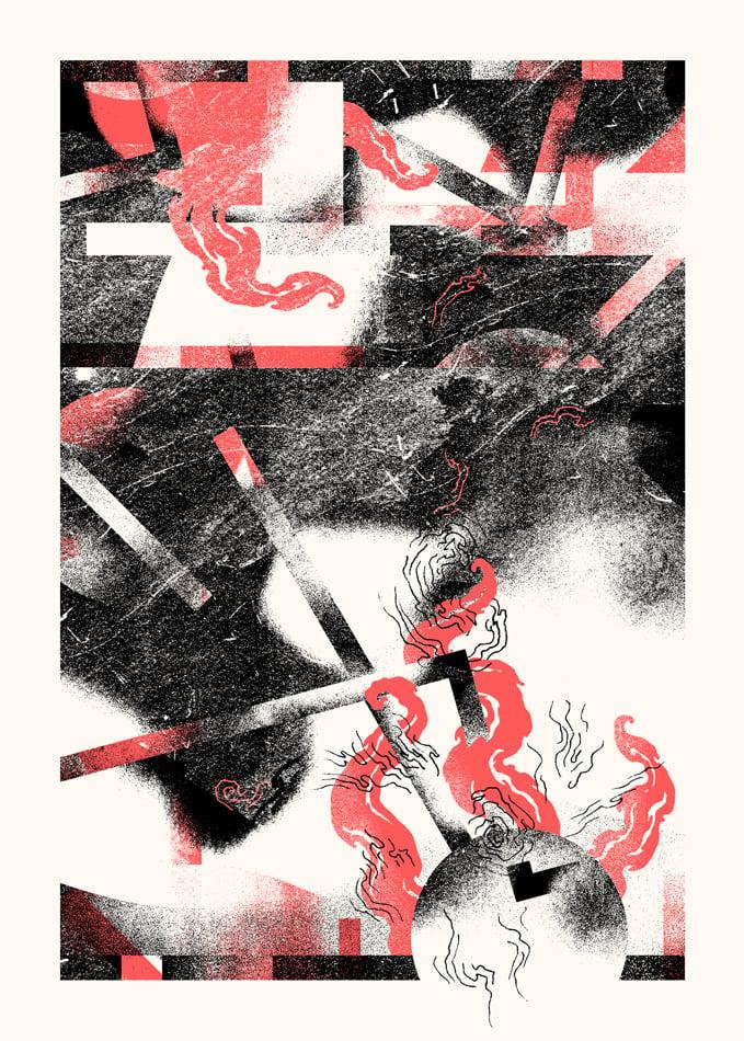 "Image of Artprint ""EN FUMÉE"" (2017)"