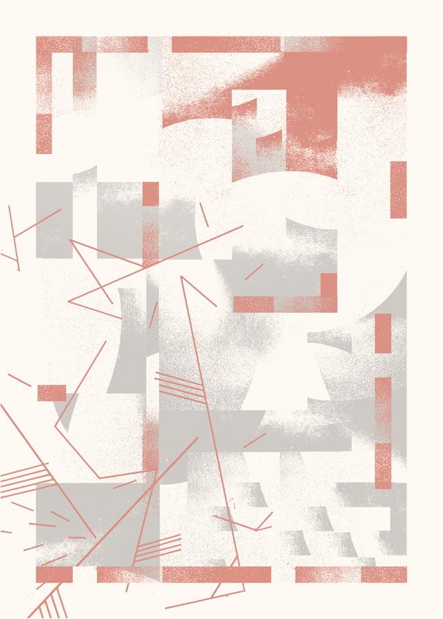 """Artprint """"PERÇÉE"""" (2017)"""