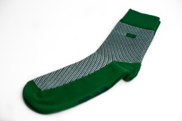 Image of Green Tweed Socks