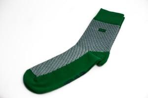 Image of Green Tweed Socks